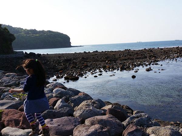 小江の海岸